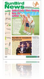 SunBird News - August 2012