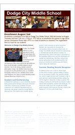 DCMS August Newsletter