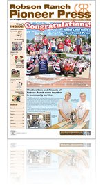 Robson Ranch Pioneer Press - August 2012