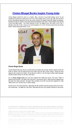 Bhagat wants chetan young india book what