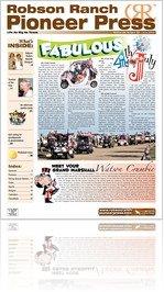 Robson Ranch Pioneer Press - June 2009