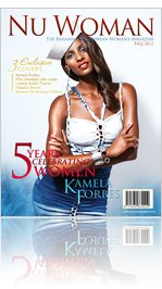 5-year issue, Kamela Forbes cover, photo by Jason Mickle