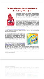 How to obtain Additional Savings with Laundry Detergent Coupon codes