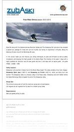 Zuba Ski Monterosa Freeride Clinic 2013