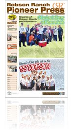 Robson Ranch Pioneer Press - May 2013