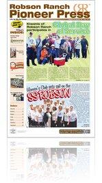 Robson Ranch Pioneer Press - May 2013