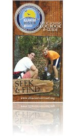 Illinois River Road Geocaching Log Book & Guide