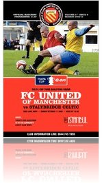 FC United v Stalybridge [FA Cup 3Q] Vol 5 - Issue 8 - 09/10