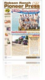 Robson Ranch Pioneer Press - June 2013