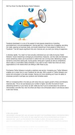 Did You Know You May Be Buying Twitter Followers