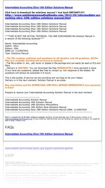 read intermediate accounting stice 19th edition solutions manual rh express yudu com Intermediate Accounting 12th Edition Intermediate Accounting Beli